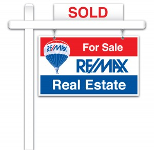 RE/MAX Sale Sign
