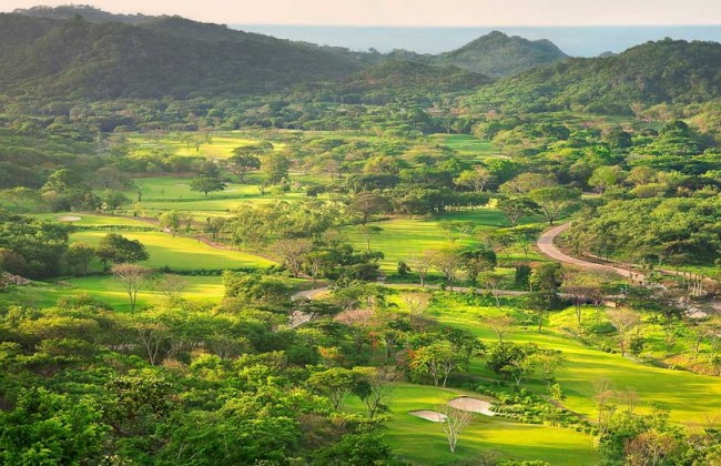 Guacalito - Aerial Golf Course
